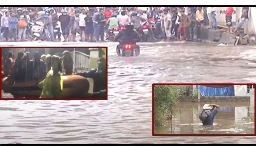 Telangana : హైదరాబాద్లో భారీ వర్షం కురిసే అవకాశం..జాగ్రత్త