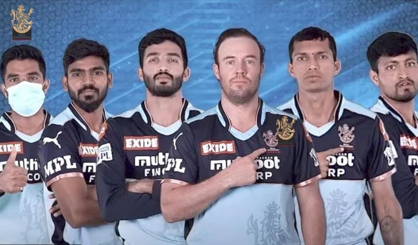 IPL 2021: ఆర్సీబీ జెర్సీ రంగు మారింది.. రెడ్కు బదులు బ్లూ