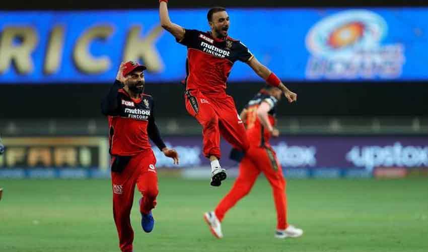 IPL 2021 RCB Vs MI హర్షల్ హ్యాట్రిక్.. ముంబైపై బెంగళూరు గెలుపు