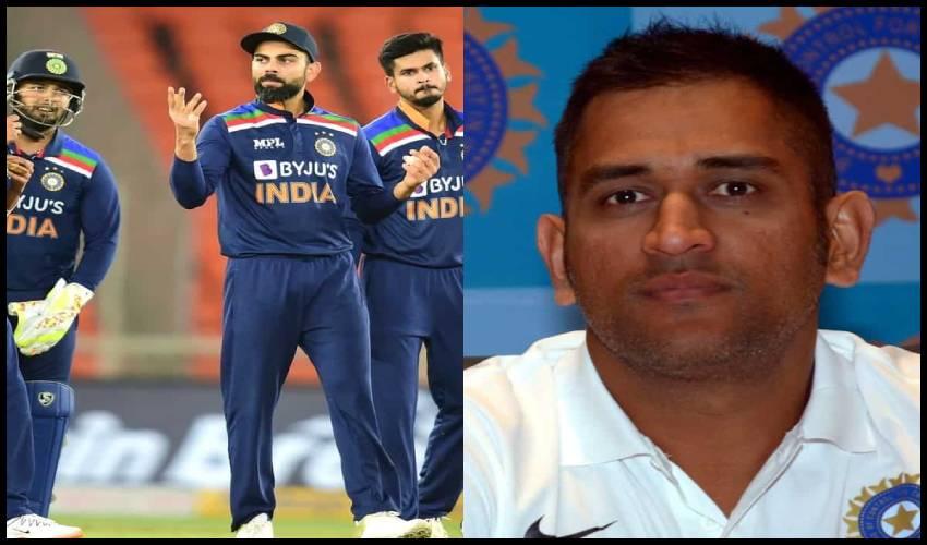 T20 World Cup : టీ20 వరల్డ్ కప్కు భారత జట్టు ఇదే.. మెంటర్గా ధోనీ