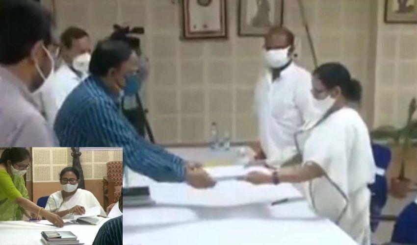 Mamata Banerjee : భవానీపుర్ అసెంబ్లీ స్థానానికి మమత నామినేషన్