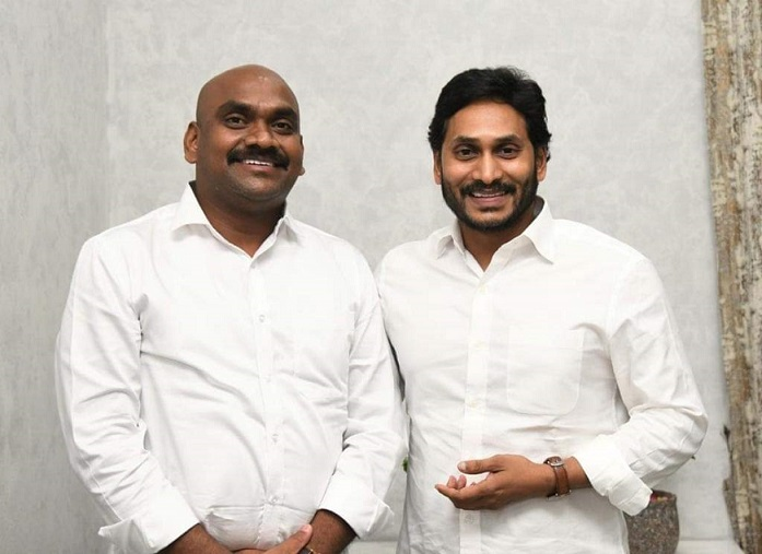 Mlc Ramesh Yadav With CM Jagan