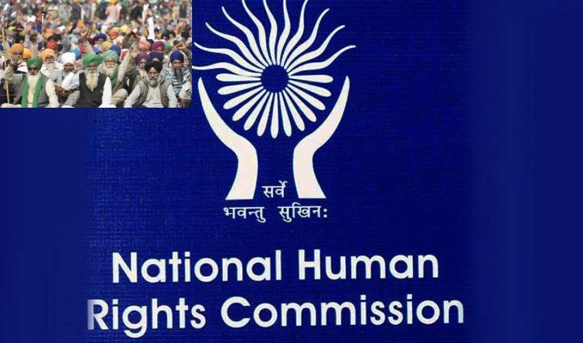 NHRC : రైతుల ఆందోళన..కేంద్ర,రాష్ట్ర ప్రభుత్వాలకు ఎన్హెచ్ఆర్సీ నోటీసులు