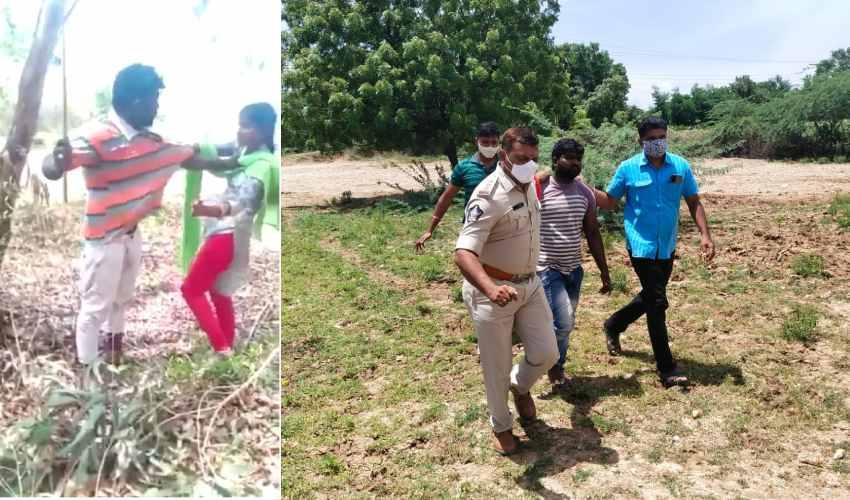 Men Molested Girl : నెల్లూరు జిల్లాలో యువతిపై దాడి చేసిన శాడిస్టులు అరెస్ట్