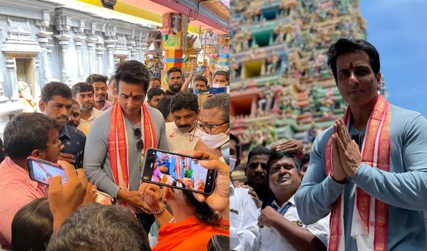 Sonu Sood : దుర్గమ్మ సన్నిధిలో సోనూ సూద్..