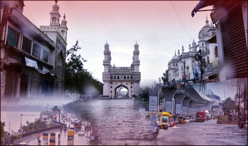 Gulab Effect : హైదరాబాద్కు గులాబ్ గండం.. నేడు, రేపు భారీ వర్షాలు