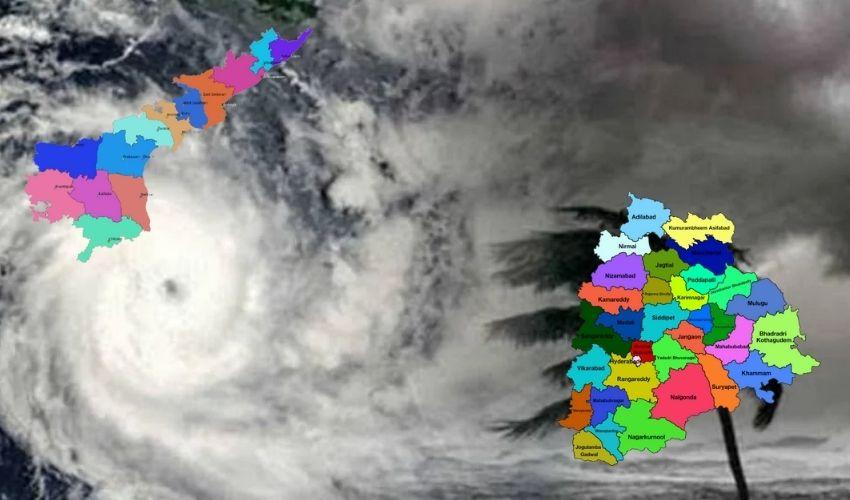 Telugu States : మూడు రోజులు భారీ వర్షాలు, జాగ్రత్త