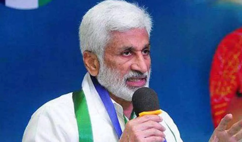 Vijaya Sai Reddy : భూకబ్జా ఆరోపణలు తప్పుపట్టిన విజయసాయిరెడ్డి