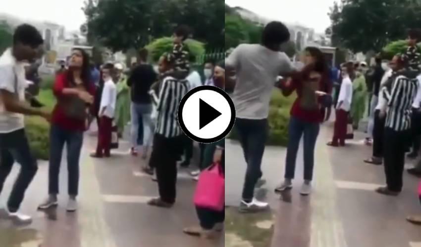 Viral video : అతడు క్యాబ్ డ్రైవర్ కాదు.. అందుకే తిరిగి కొట్టాడు.