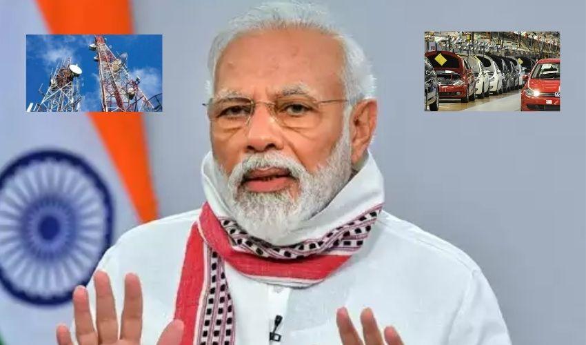 Union Cabinet : కేంద్ర కేబినెట్ కీలక నిర్ణయాలు..ఆటో, టెలికాం రంగాలకు భారీ ఊరట