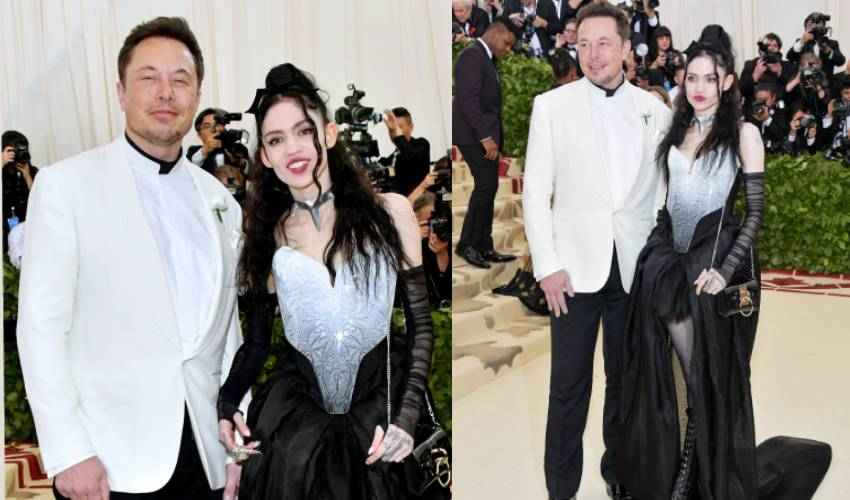 Elon Musk With Lover