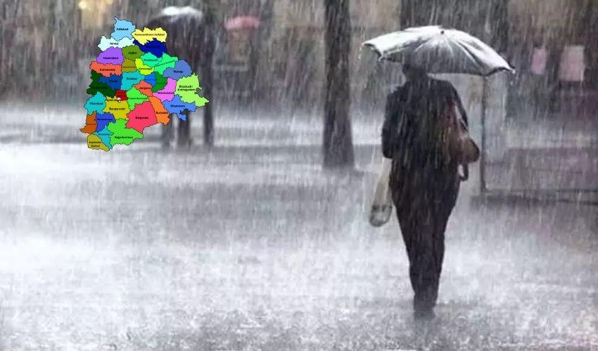 Heavy Rains : తెలంగాణాలో మూడురోజులు భారీ వర్షాలు