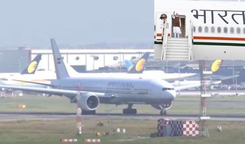 PM Modi's Flight : రూటు మార్చిన మోదీ ఫ్లైట్..పాక్ గగనతలం మీదుగా