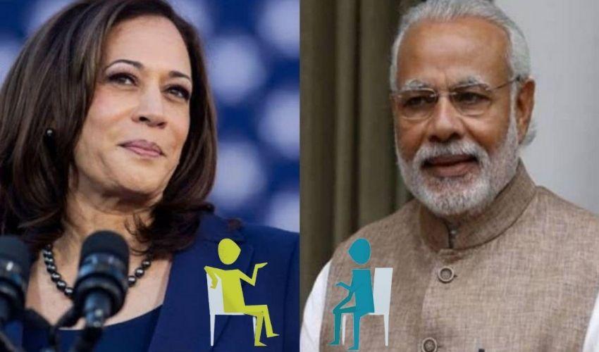 PM Modi: బైడెన్ కంటే ముందు కమలాహారిస్ ను కలవనున్న పీఎం మోదీ