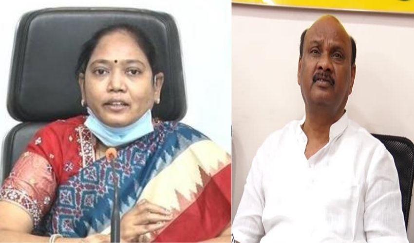 Minister Sucharitha : గంజాయి అమ్ముకునే అయ్యన్నపాత్రుడు నీతులు చెప్తున్నాడు : హోంమంత్రి సుచరిత