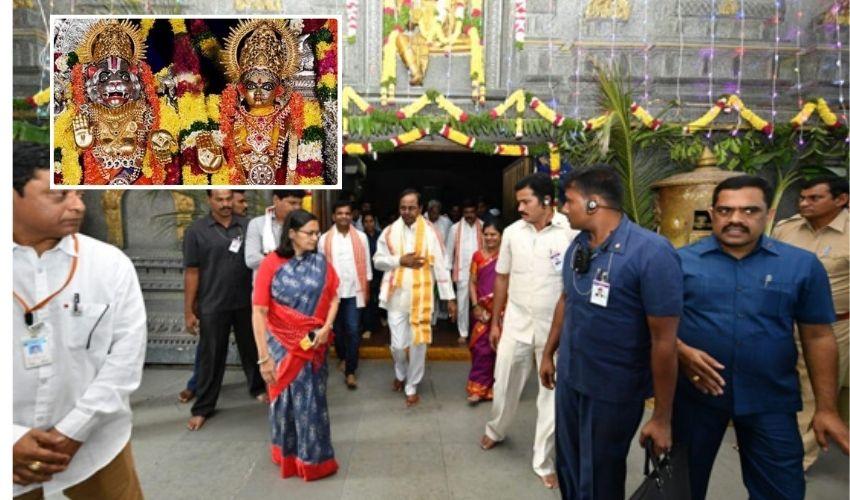 CM KCR : యాదాద్రికి సీఎం కేసీఆర్, 17న ప్రారంభ తేదీ ప్రకటన!