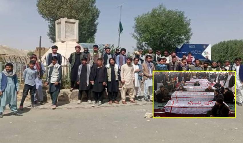 Afghanistan : అఫ్ఘాన్ లో 13 మంది హజారాలను దారుణంగా హత్యచేసిన తాలిబన్లు