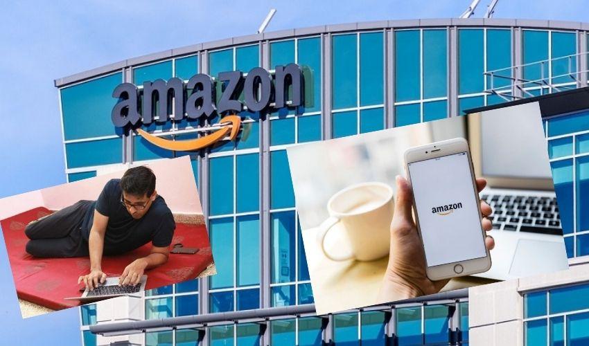 Amazon WFH : అమెజాన్ ఉద్యోగులకు 2022 లో కూడా ఇళ్లలోనే