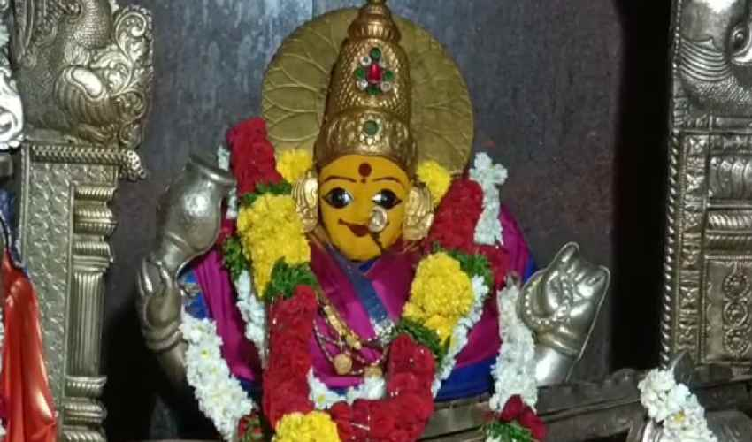 Dasara Festivities : కాత్యాయని అవతారంలో బాసర జ్ఞాన సరస్వతి-పోటెత్తిన భక్తులు