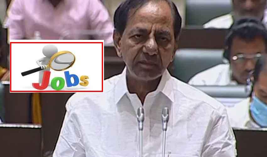 CM KCR : నిరుద్యోగులకు గుడ్న్యూస్, 80వేల ప్రభుత్వ ఉద్యోగాలు భర్తీ..!