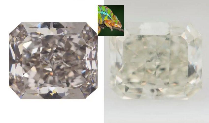 Chameleon Diamond: రంగులు మారుస్తున్న వజ్రం..సైటిస్టులు సైతం షాక్