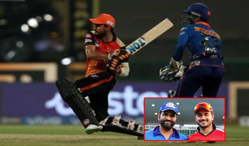 IPL 2021 : సన్ రైజర్స్ పై ముంబై ఘనవిజయం