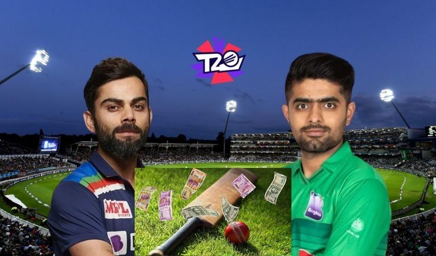India Pak Match 2021: టాస్ నుండి లాస్ట్ బాల్ వరకు ఏదైనా బెట్టింగే!