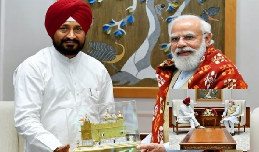 Punjab Cm met Pm Modi: పంజాబ్ కాంగ్రెస్లో క్రైసిస్.. ప్రధాని మోదీతో కొత్త సీఎం చన్నీ భేటీ..!