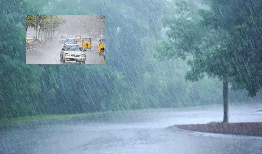 Heavy Rains : హైదరాబాద్ లో నేటి మధ్యాహ్నం భారీ వర్షాలు