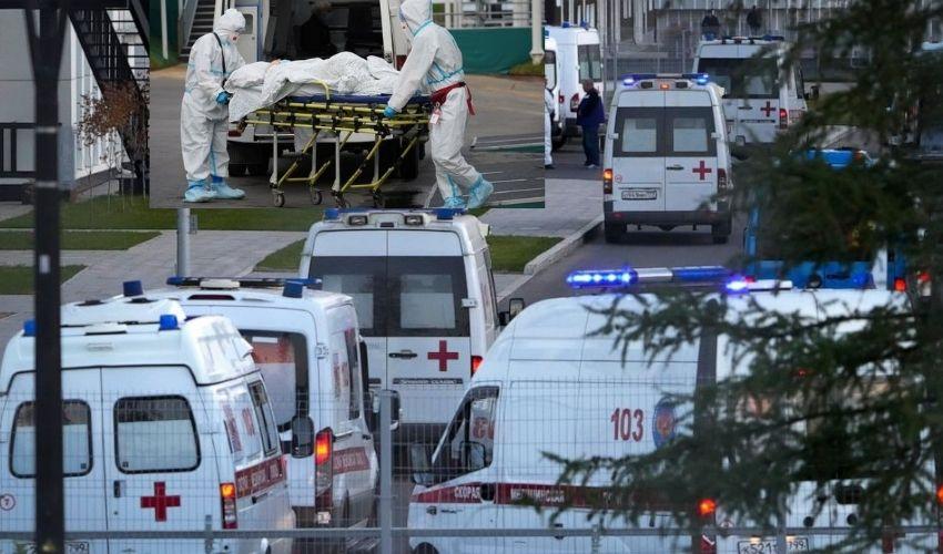 Russia : రష్యాలో వరుసగా మూడో రోజు కోవిడ్ విజృంభణ..ఒక్కరోజే వెయ్యికి పైగా మరణాలు