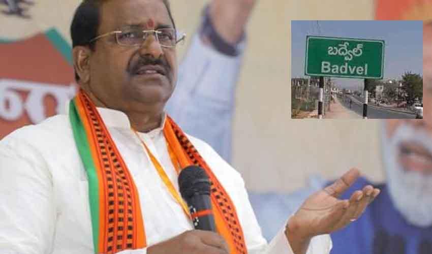 Somu Veerraju : బద్వేల్ ఉపఎన్నిక.. బీజేపీ కీలక నిర్ణయం