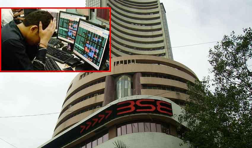 Stock Market : మరోసారి భారీ నష్టాలు.. అత్యధికంగా నష్టపోయినవి ఇవే