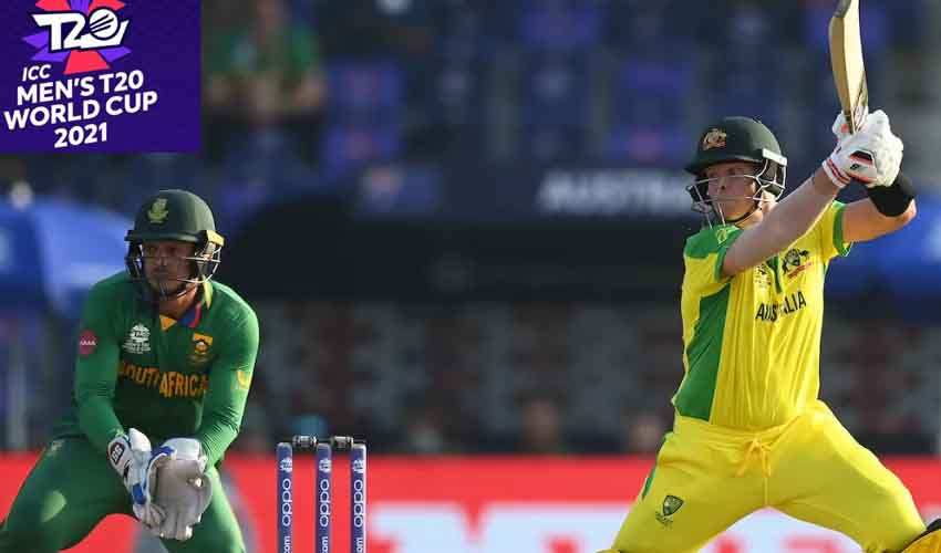 T20 World Cup 2021 : సూపర్-12లో ఆసీస్ శుభారంభం…సౌతాఫ్రికాపై విజయం