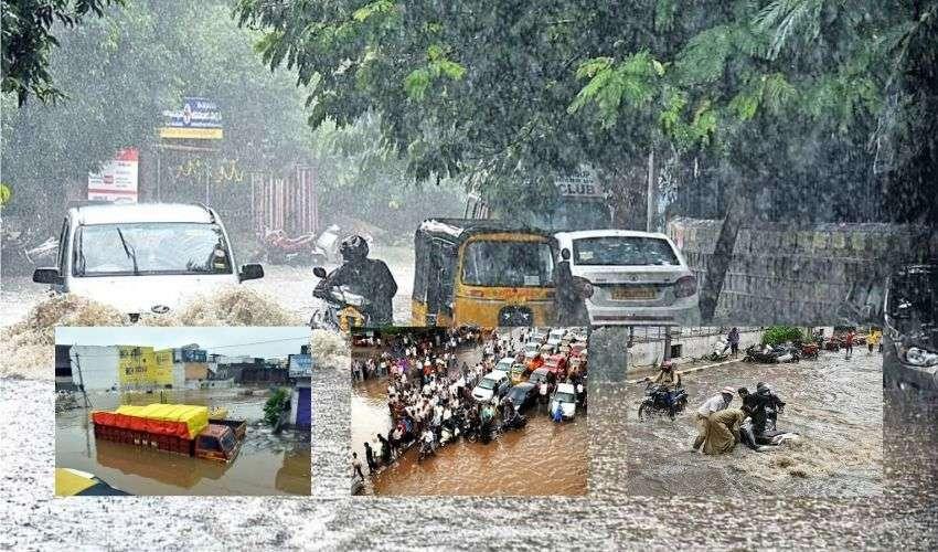 Telangana Rains: మళ్ళీ కుండపోత.. నేడు కూడా భారీ వర్షాలు!