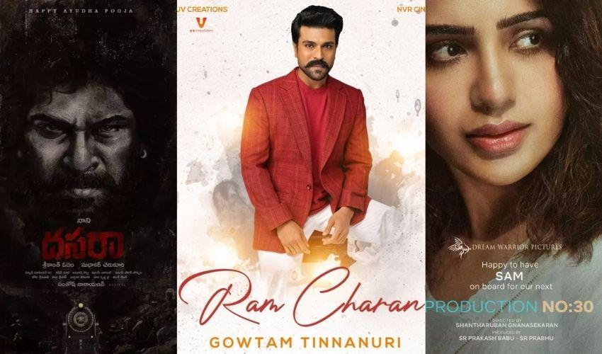 Telugu New Films: కొత్త సినిమాల అనౌన్స్.. దసరా సర్ప్రైజ్లతో ఉక్కిరిబిక్కిరి!