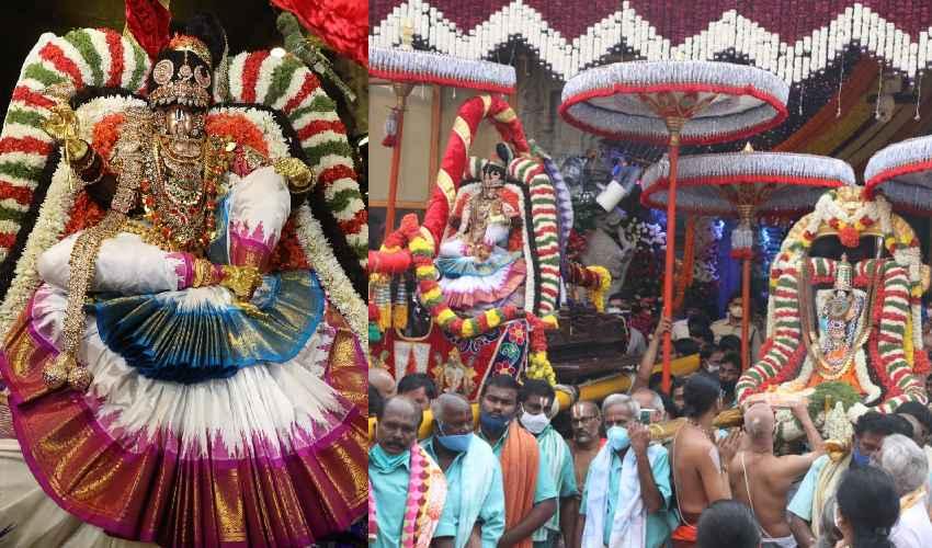 TTD Brahmotsavam : మోహినీ అవతారంలో జగన్మోహనాకారుడు