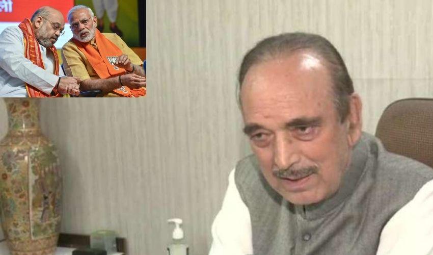 Ghulam Nabi Azad :  జమ్మూకశ్మీర్ విషయంలో ఆ తప్పు చేయొద్దు