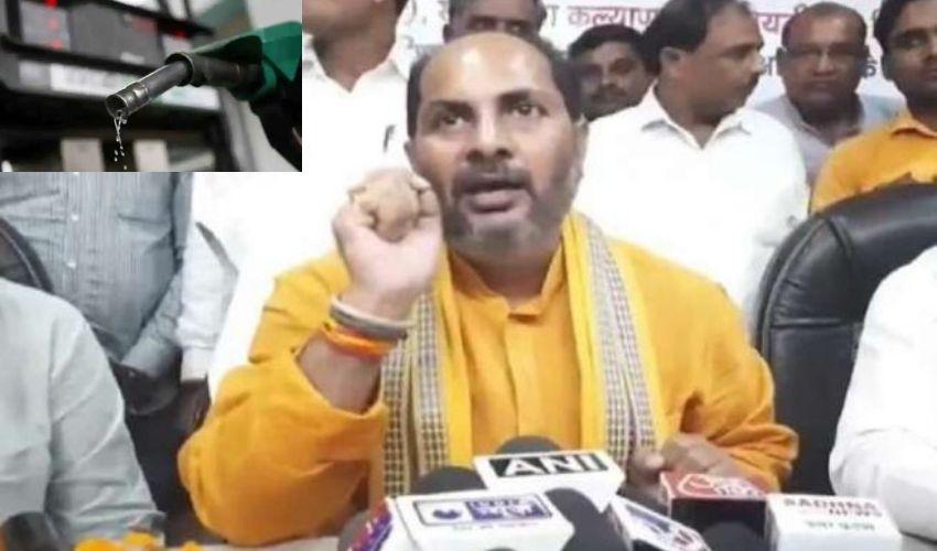 UP Minister On Fuel Price Hike : 95శాతం మందికి పెట్రోల్ అవసరమే లేదన్న యూపీ మంత్రి
