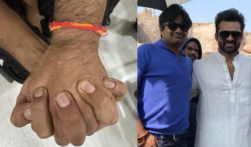 https://10tv.in/movies/hareesh-shankar-meets-saidharamtej-295534.html