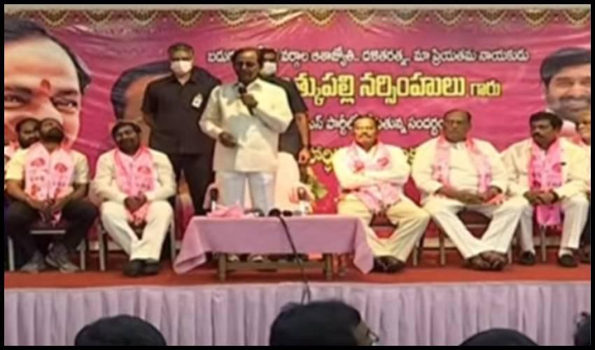 Motkupalli Narasimhulu : టీఆర్ఎస్లోకి మోత్కుపల్లి.. కేసీఆర్ ప్రశంసలు!