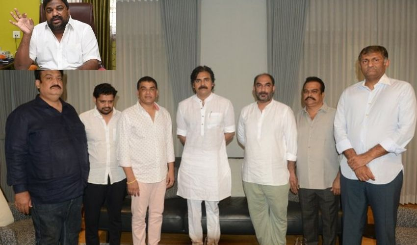 Pawan Kalyan :  పవన్ కళ్యాణ్ తో డబుల్ గేమ్ ఆడుతున్న నిర్మాతలు : నట్టి కుమార్