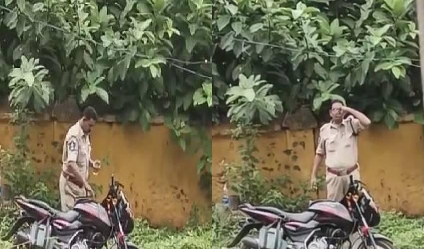 https://10tv.in/crime/viral-video-police-constable-taken-liquor-in-ar-police-ground-east-godavari-district-293875.html