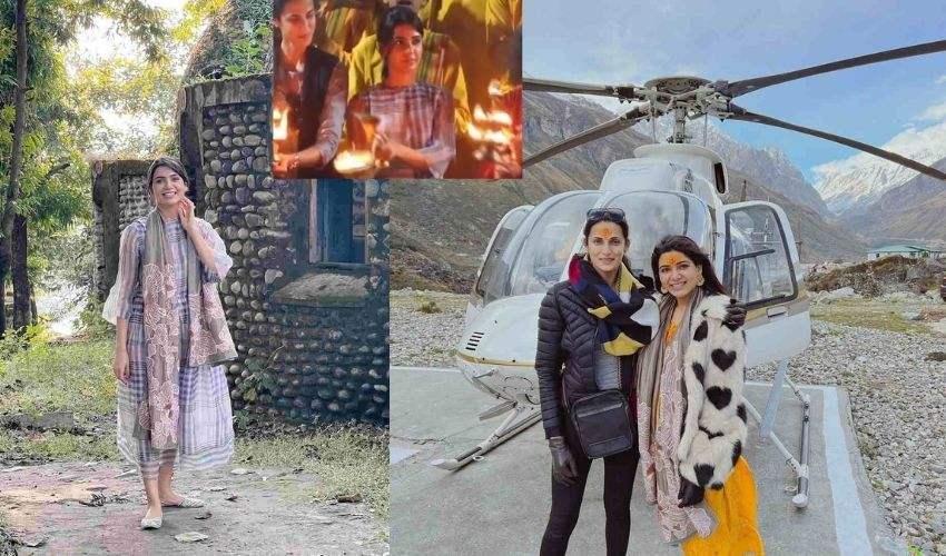 Samantha : చార్ ధామ్ యాత్రలో సమంత