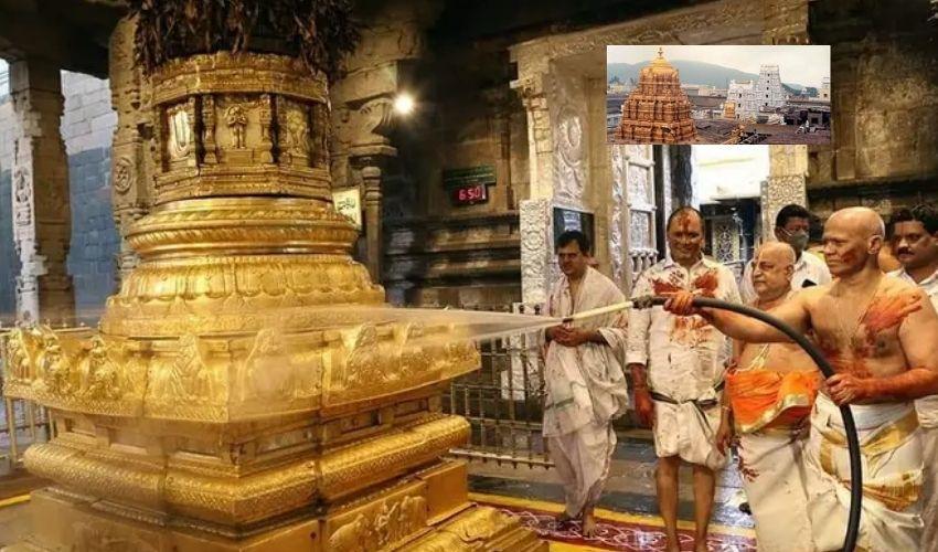 Thirumala : తిరుమల శ్రీవారి ఆలయంలో నేడు కోయిల్ ఆళ్వార్ తిరుమంజనం